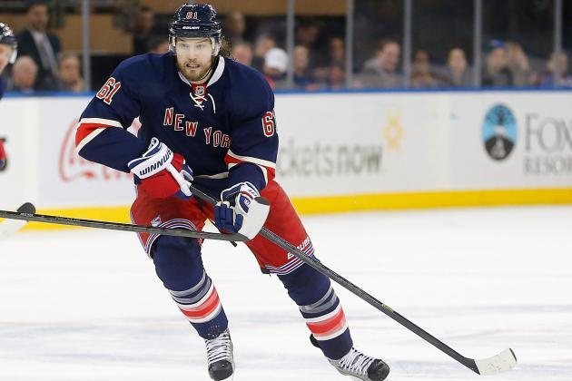 Rangers and Blue Jackets on Unexpected Paths 1 Year After Rick Nash Blockbuster