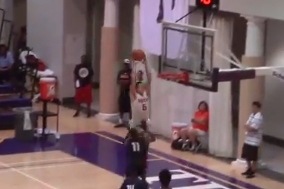 Duke Commit Grayson Allen Entertains at the Global Challenge (VIDEO)