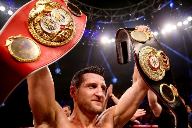 Carl Froch to Defend Super Middleweight Titles Against George Groves