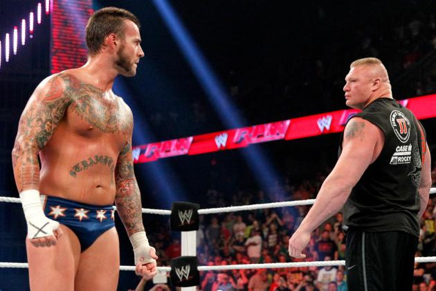Brock Lesnar's Feud with CM Punk Will Outshine Battles with Triple H