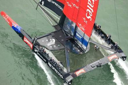 Emirates Team New Zealand Secure Louis Vuitton Cup Finals Spot