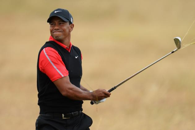 Tiger Woods' Aura of Invincibility Further Damaged at 2013 British Open