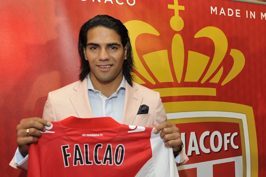 Newly Minted Monaco Striker Radamel Falcao Denies Reports of False Age