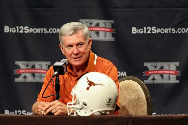 Texas Football: Grading Mack Brown's Appearance at Big 12 Media Days