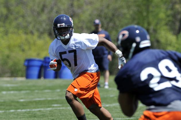 Does Chicago Bears Rookie LB Jon Bostic Have a Shot at Starting?