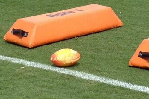 Eagles' Wide Receivers Go Old School with Nerf Footballs