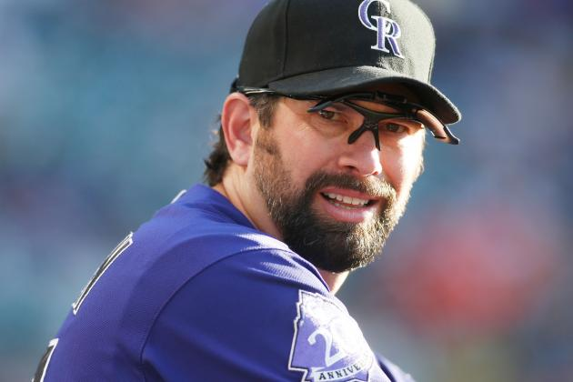 Helton Blasts 361st Career HR in 2nd Inning