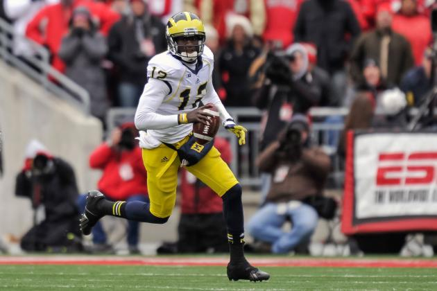 Michigan Football: Projecting Production of Team's Top Skill Position Players