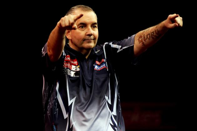 Darts World Matchplay 2013: Phil Taylor Remains Favorite After Dramatic Win