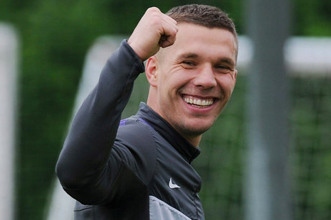 Arsenals Lukas Podolski Not Scared About Big Names Coming to Club