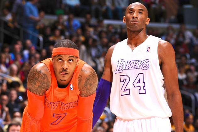 Carmelo Anthony Shoots Down Idea That He'll Bolt NY Knicks for LA Lakers