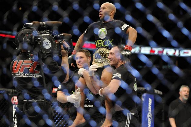 Demetrious Johnson Retains UFC Flyweight Title by Submitting John Moraga