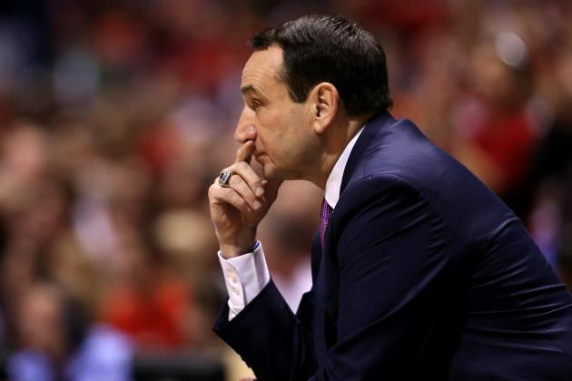 Report: Duke's Coach K Seriously Considered Retirement