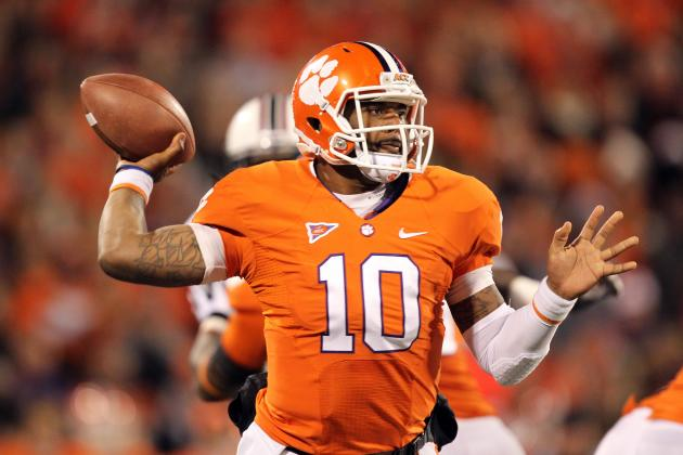 Clemson QB Tajh Boyd Highlights 2013 Preseason All-ACC Football Team