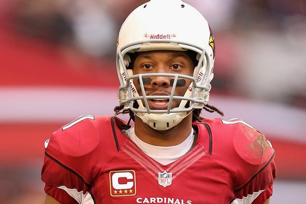 Larry Fitzgerald OK with HGH Testing, Says It Will Keep NFL Fair