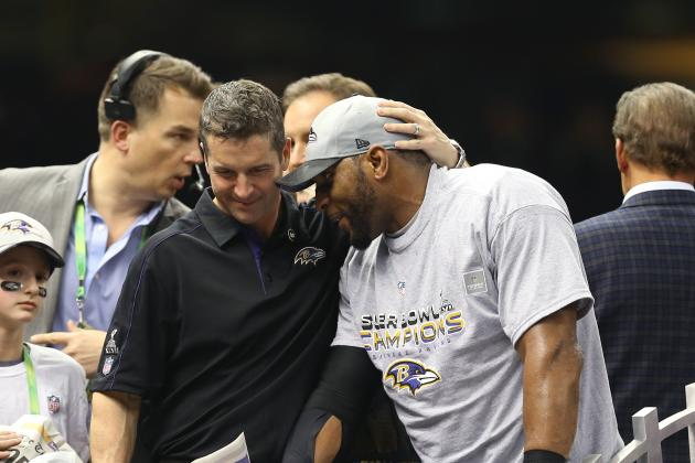 Harbaugh Has Given No Thought to Replacing Ray Lewis