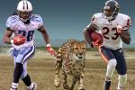 Chris Johnson, Devin Hester to Race a Cheetah on TV