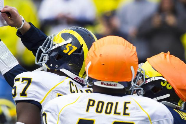 Michigan LB Antonio Poole No Longer on Playing Roster Due to Medical Reasons