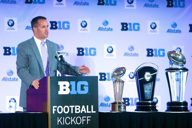 Big Ten Media Days 2013: Day 1 Interview Highlights, Quotes and Takeaways