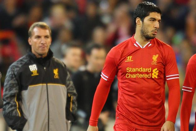 Luis Suárez Remains 'Very Much a Liverpool Player' Says Brendan Rodgers
