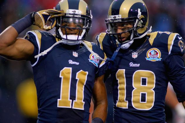 St. Louis Rams 2013 Wide Receivers