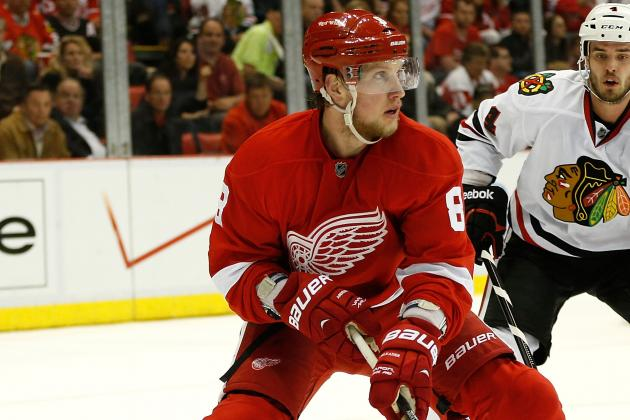 Wings' Justin Abdelkader Could Be the Next Tomas Holmstrom