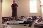 Kaepernick Shows Off His Massive Kicks Collection