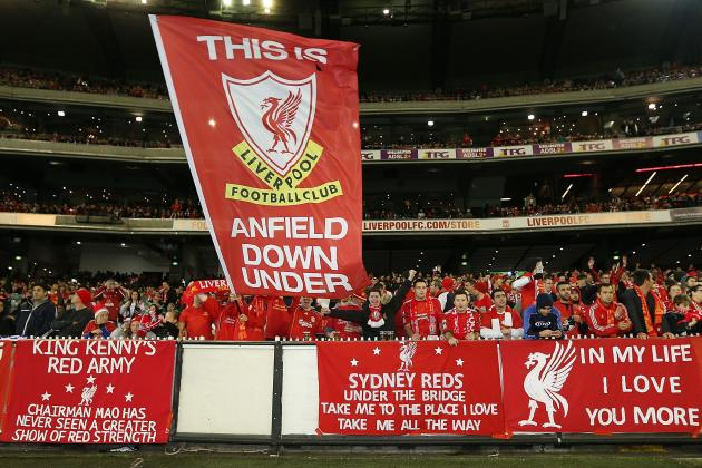 95,000 Liverpool Fans Sing