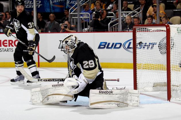 Penguins GM Wouldn't Mind If Fleury Takes Olympic Snub Personally