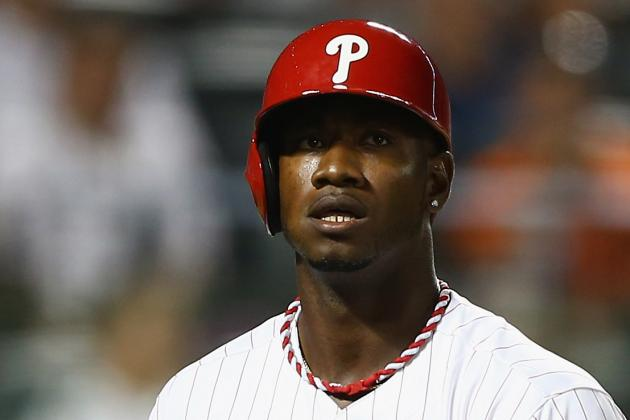 Domonic Brown out of Lineup Tonight vs. Cardinals