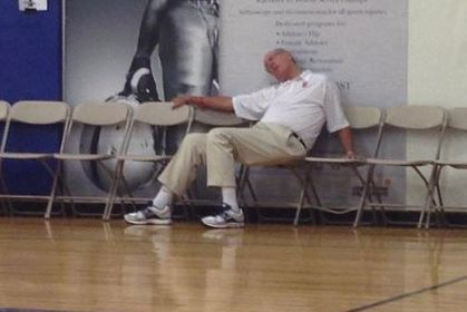 Jim Boeheim Explains Viral Sleeping Photo