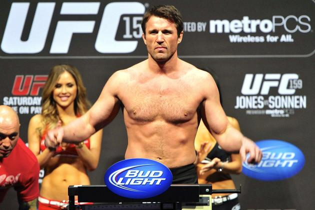 Chael Sonnen Signs 5-Fight Deal with the UFC