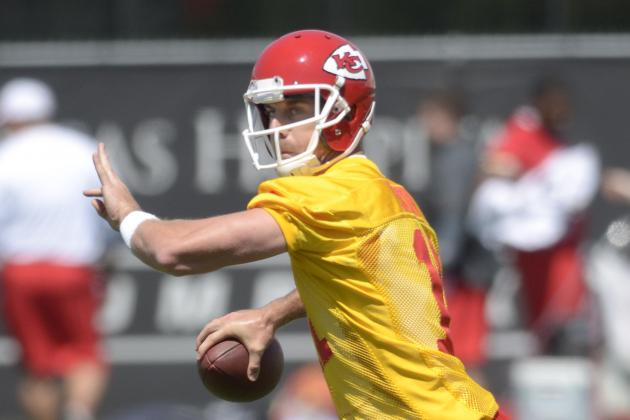Chiefs Go All Pass Plays in First Two Camp Practices