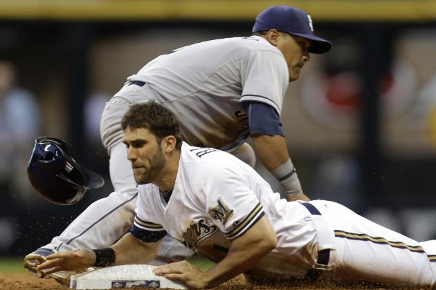 ESPN Gamecast: Padres vs. Brewers