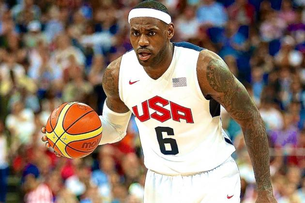 LeBron James Reportedly Done with Team USA, International Basketball Career