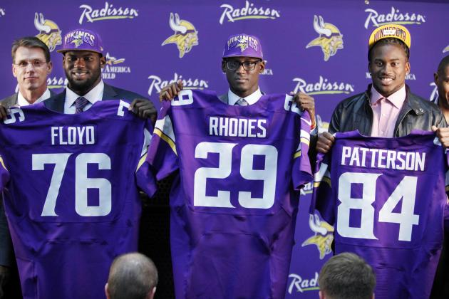 Vikings Headed for Training Camp with Three First-Round Picks Still Unsigned
