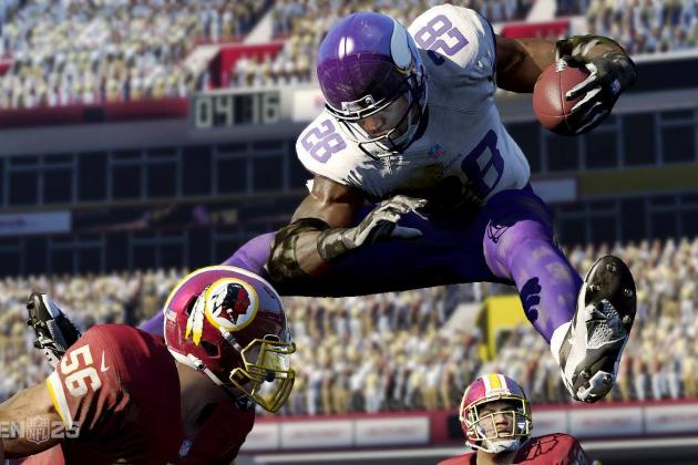 Madden 25 Player Ratings: Stars and Rookies Who Have Earned High Marks