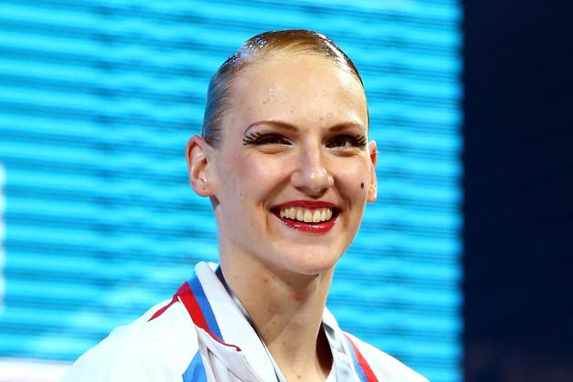 Romashina Wins Third Gold in Synchro Swimming
