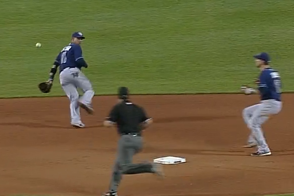 Rays vs. Red Sox Video: Watch Yunel Escobar's Sick Glove Backhand Flip