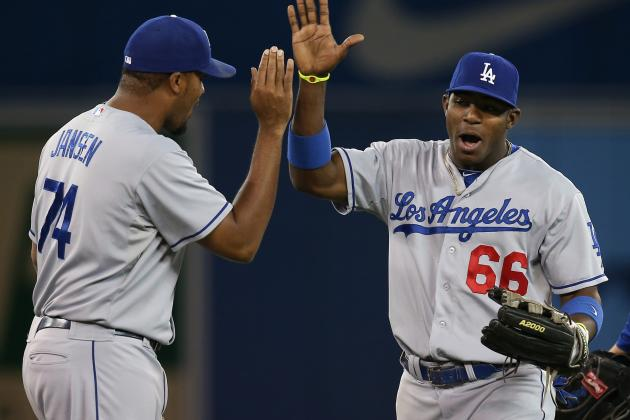 Dodgers Beat Blue Jays 8-3