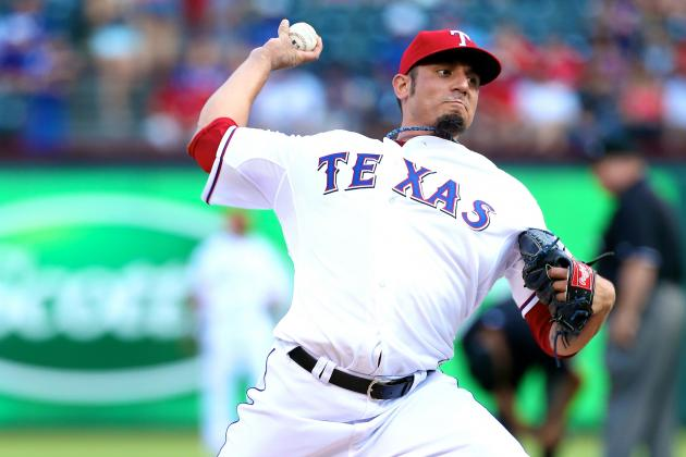 Grading Matt Garza's Debut Start with the Texas Rangers