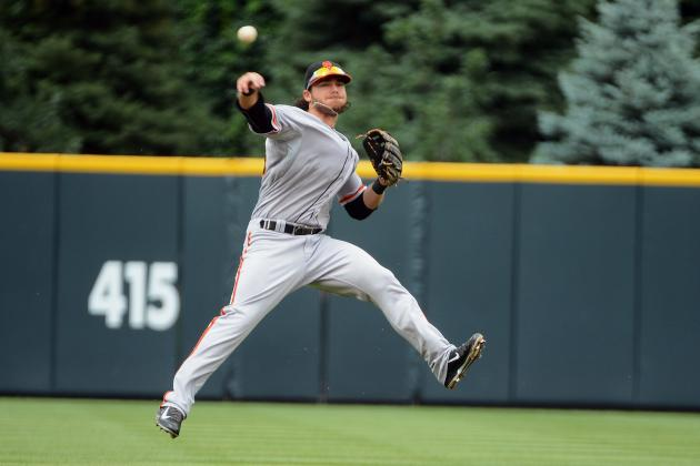 San Francisco Giants: Glove of Brandon Crawford More Style Than Substance