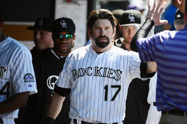 De La Rosa, Helton Lift Rockies Past Marlins