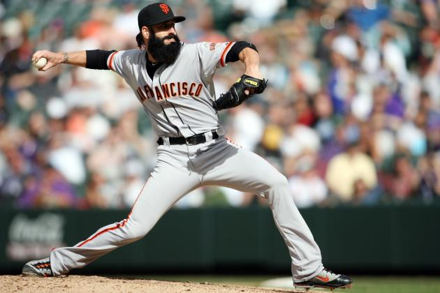 Los Angeles Dodgers: Is Ex-Giant Brian Wilson the Answer to Bullpen Need?
