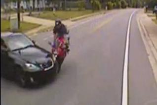 Jack Nicklaus' Grandson Nick O'Leary Survives Motorcycle Crash Captured on Video