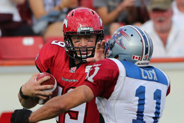 Can the Calgary Stampeders Beat the Winnipeg Blue Bombers with Mitchell at QB?