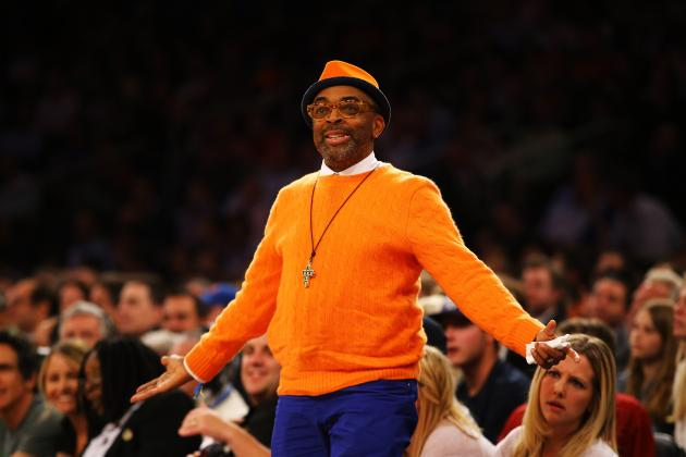 Spike Lee Offering Fans Chance to Sit Courtside at Knicks Game for $10,000