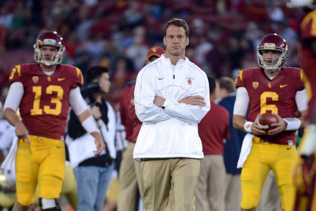 Lane Kiffin Has Much to Answer for at 2013 Pac-12 Media Days