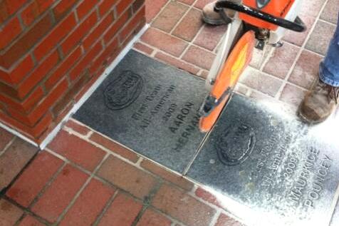 Aaron Hernandez's Honorary All-American Brick Removed by Florida Gators