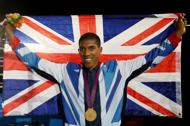 Olympic Super-Heavyweight Champion Anthony Joshua Turns Pro